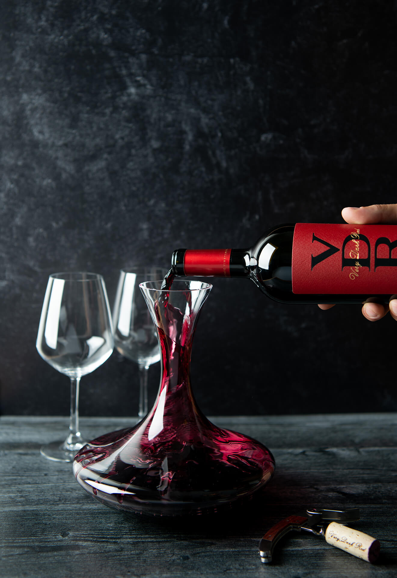 VDR Wine bottle